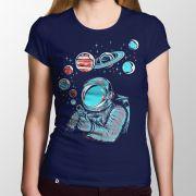 Camiseta Bolhas de Sabão - Feminino