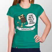 Camiseta CatNietzsche - Feminino