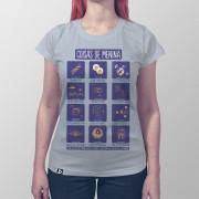 Camiseta Coisas de Menina
