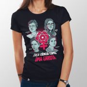 Camiseta Ciência Como Uma Garota