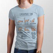 Camiseta Comportamento Felino
