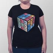 Camiseta Cubo Periódico