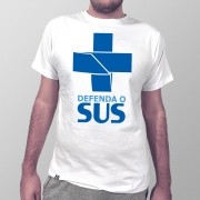 Camiseta Defenda o SUS