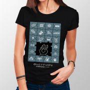 Camiseta Deus das Lacunas - Feminino