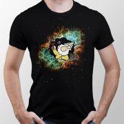 Camiseta Deus Pintando o Universo