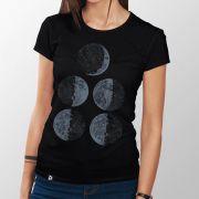 Camiseta Fases da Lua