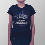 Camiseta Feita de Poeira das Estrelas