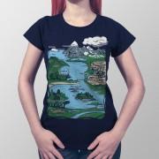 Camiseta Formações Geográficas