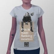 Camiseta Isaac Fucking Newton