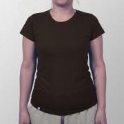 Camiseta Lisa Marrom