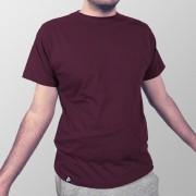 Camiseta Lisa Vinho