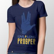Camiseta Live Long - Feminino