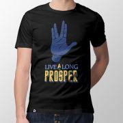 Camiseta Live Long - Masculino