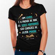 Camiseta Livros