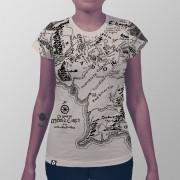 Camiseta Mapa Terra Média