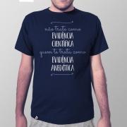 Camiseta Masculina Evidência Anedótica