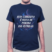 Camiseta Masculina Feita de Poeira das Estrelas