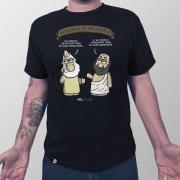 Camiseta Masculina Religião vs. Filosofia