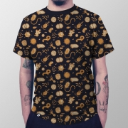 Camiseta Masculina Total Microbiologia
