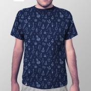 Camiseta Masculina Total Química