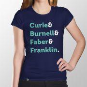 Camiseta Mulheres da Ciência