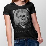 Camiseta Nevermore - Feminino