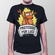 Camiseta Protegido por Luci