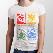 Camiseta Quatro Nações - Feminino