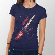 Camiseta Saturn V - Feminino