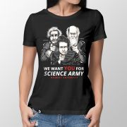 Camiseta Science Army - Feminino