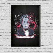 Pôster Albert Einstein