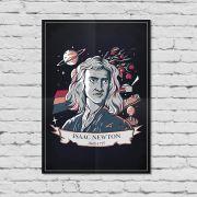 Pôster Isaac Newton