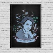 Pôster Rosalind Franklin
