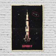Pôster Saturn V