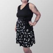 Vestido Gatonautinha