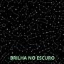 Bermuda de Algodão Total Constelações Brilho