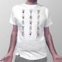 Camiseta Bonecos Elementares