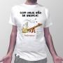 Camiseta Com Deus Não se Brinca