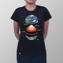 Camiseta Baby Look Anatomia da Terra