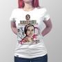 Camiseta Baby Look Bertha Lutz