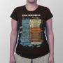 Camiseta Baby Look Eras Geológicas