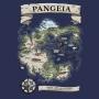 Camiseta Mapa de Pangeia