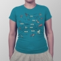 Camiseta Taxonomia Minimalista