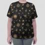 Camiseta Total Sistema Solar Monocromático