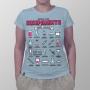 Camiseta Vidrarias 8 Bits