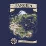Manga Longa Mapa de Pangeia