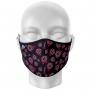 Máscara Total Mulheres na Ciência Preto