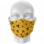 Máscara Total Risco Biológico Amarela