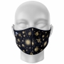 Máscara Total Sistema Solar Monocromático