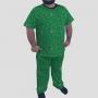 Pijama Camiseta Dinossauros Calça Estampada